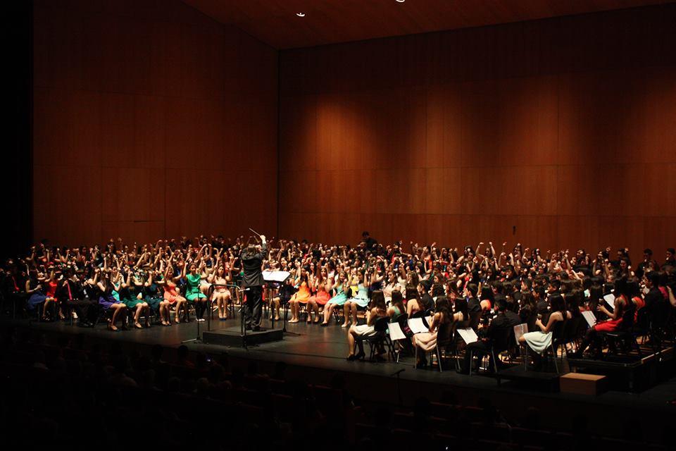 Класически концерт на ученици в гр. Памаплона, Испания